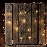 300er LED Eiszapfen Lichterkette warmweiß 7,1m Innen Außen Lights4fun