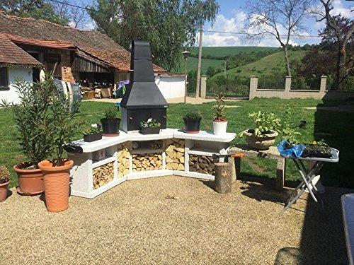 Toskana Quatro Grillkamin Außenküche / Wellfire - 9