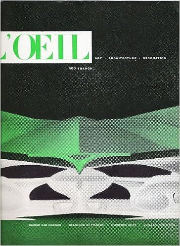 Télécharger le livre google en format pdf mac L oeil. revue d art e9d6e1d1915