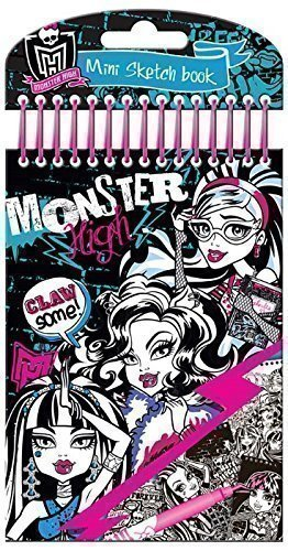 Album Coloriage Monster High Croquis Mini Ideal Sac Anniversaire Pochette