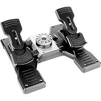 Logitech G Saitek PRO Flight Rudder Pedals, Professional Simulation Pedals with Toe Brake, Non-Slip, Precise Fluid…