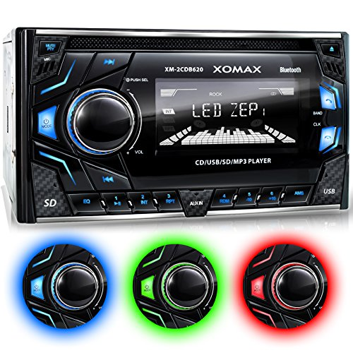 XOMAX XM-2CDB620 Car Stereo with...