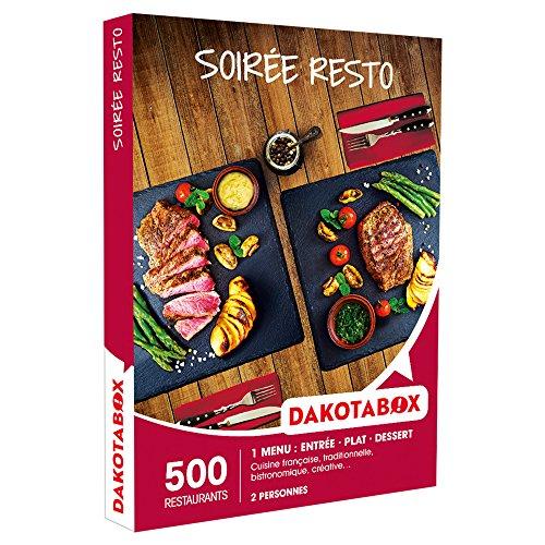 DAKOTABOX - Coffret Cadeau - SOIRÉE RESTO - cuisine Française, traditionnelle,...