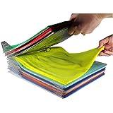 Lot de 10 rangements Pliables pour T-Shirt/Chemises/Documents