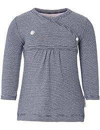 Noppies Baby - Mädchen Kleid G Dress ls Kirsten stripe, Gestreift