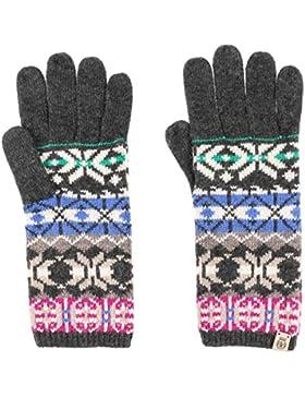 Roeckl Jacquard Strickhandschuhe Handschuhe Fingerhandschuhe Damenhandschuhe Strickhandschuhe Fingerhandschuhe