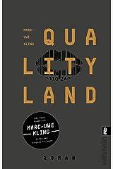 QualityLand: Roman (dunkle Edition) Taschenbuch