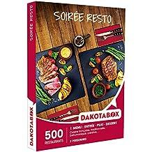 DAKOTABOX - Coffret Cadeau - SOIRÉE RESTO - cuisine Française, traditionnelle, bistronomique, créative