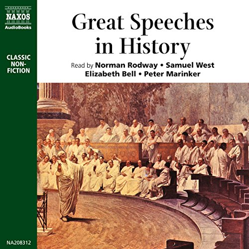 Great Speeches in History  Audiolibri