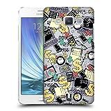 Head Case Designs Buchhalter Gekritzelte Berufe Ruckseite Hülle für Samsung Galaxy A5 (2015)