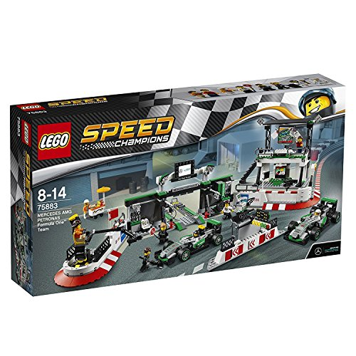 Speed-Champions-75883-Mercedes-Amg-Petronas-Formula-One-Team-Building-Set