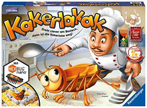 einkaufen spiel Ravensburger 22212 4 Kakerlakak Brettspiel