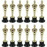 MINGSTORE Molde de estatuilla Oscar de 12 Piezas para recompensar a los ganadores, magníficos trofeos en Ceremonias y Herrami