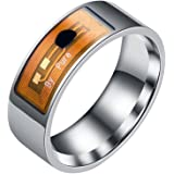 Mengonee Smart-Zubehör Unterwasser Intelligent Ringe NFC Multifunktions Magie Wearable Finger Digital Ring