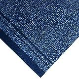 Beaulieu Premium-Teppichläufer für den Flur, strapazierfähig (rot, blau, grün, grau, schwarz, beige, braun), verkauft in 30cm-Abschnitten, also Quantität 1 = 30cm, oxfordblau, 26