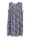 GladiolusA Camisón De Tirantes Mujer Pijama Camisón Vestido En Casa Ropa De Dormir Salto De Cama Sin Manga
