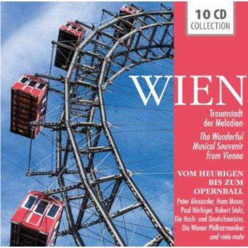 Wien - Traumstadt der Melodien - Vom Heurigen bis zum Opernball: Radetzkymarsch, Fiakerlied, Die Reblaus, Walzer von Wien, Schöne blaue Donau, uvm! Moser-art