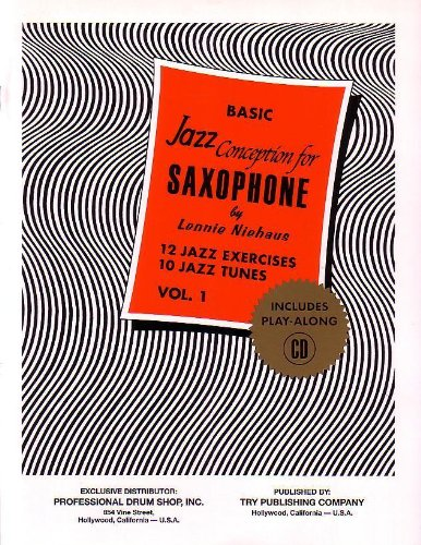 Jazz Conception for Saxophone Basic Vol.1 + cd