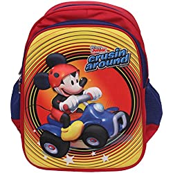 Disney Junior 14 Litres 3D Embossed Kids Backpack- in Disney Junior Characters (Mickey Mouse)