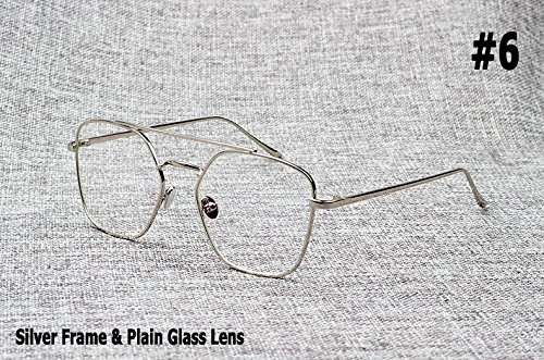 Aprigy Mode Kendall Jenner Art-Quadrat-Flieger-Sonnenbrille Frauen-Marken-Design Sun Glasses