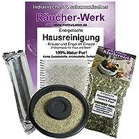 Räuchern Set 5-tlg Räucherwerk Energetische Hausreinigung: Kräuter und Engel #81262-S | XXL Räuchermischung +... preisvergleich bei billige-tabletten.eu