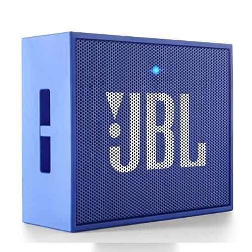 JBL Go Wireless Portable Speaker - Altavoces portable,  Color Azul (MP3 RMS 3 W)