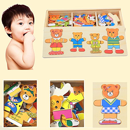 Multifunctional Drawing Writing Board Magnetic Puzzle Double Easel Toy