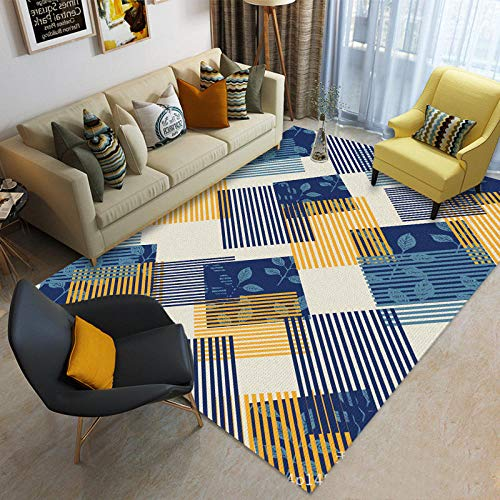 jasmineXDLstore Decoracion para salonAlfombra Moderna y Oriental Impresa para alfombras domésticas y...