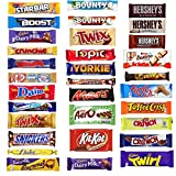 21 x MULTIPACK Chocolate Lovers Assorted Chocolate Box Bar...