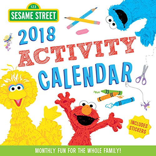 sesame-street-activity-2018-calendar-monthly-fun-for-the-whole-family-includes-stickers
