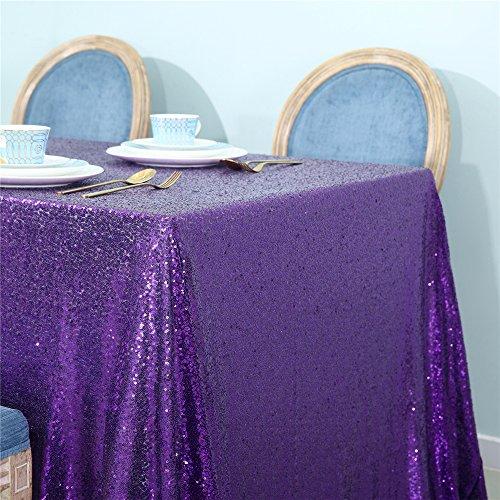 Zdada Hochzeit/Home Dekoration Sparkly Tischdecke Pailletten Tisch Cover 52