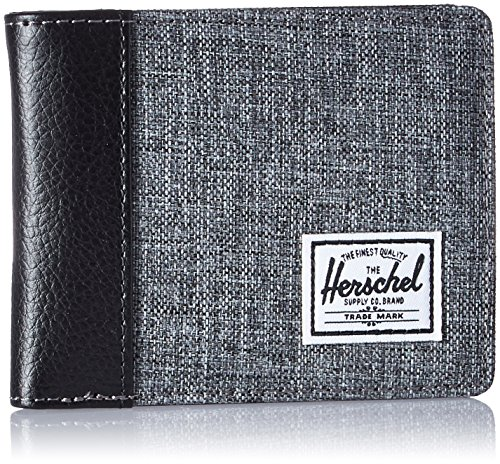 herschel-supply-co-edward-rfid-wallet-raven-crosshatch