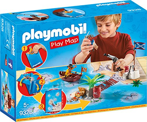 Playmobil Pirates avec Support de Jeu, 9328