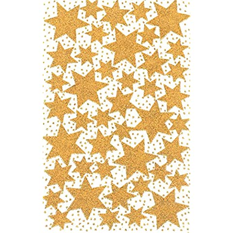 Avery 52225 - Estrellas adhesivas, color dorado