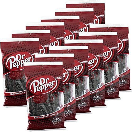 Dr. Pepper Candy Twist 12 x 142g Beutel (Fruchtgummi)