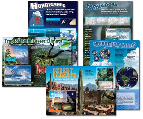 Science: Extreme Climates and Weather, Bulletin Board Set, Middle/Upper Grades