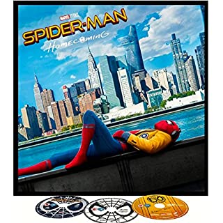 Spider-Man Homecoming Blu-ray BIG SLEEVE EDITION. Includes Exclusive 12