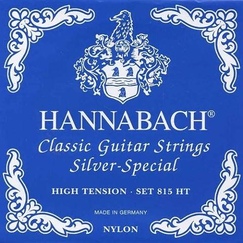 Hannabach 815HT chitarra da concerto, high tension Set di corde in Nylon
