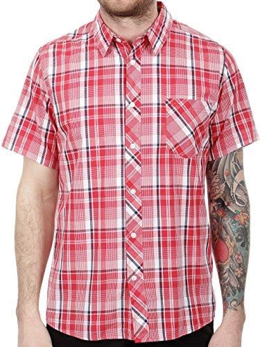 Camicia A Maniche Corte Quiksilver Pango Quik Rosso (S , Rosso)