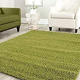 Teppich-Home Star Shaggy Teppich Farbe Hochflor Langflor Teppiche Modern für Wohnzimmer Schlafzimmer Uni Farben, Farbe:Grau, Maße:160x220 cm