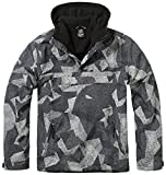 Brandit Herren Jacke Windbreaker, Mehrfarbig (Nightcamo Digital 163), Large