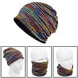 Xcellent Global Cache nez, tour de cou, bonnet, écharpe de cou, tricot, cagoule pour rester au chaud l'hiver, Unisexe, Multicolore SP047