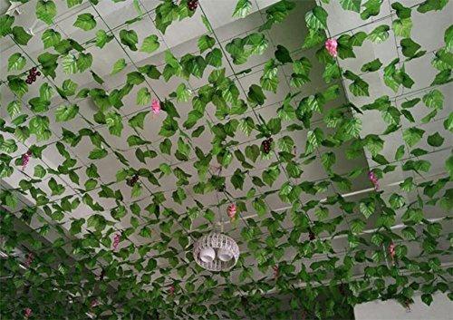 Listino Prezzi Piante Da Giardino : Piante artificiali siepe tatuer balcone decorazione edera