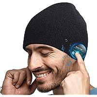 Cappello Bluetooth Idee Regalo Uomo - Cappello Uomo Donna Invernali, Berretto Bluetooth 5.0 Musica Cappello Migliori…