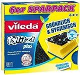 Vileda Glitzi Plus Topfreiniger zur Entfernung von hartnäckigem Schmutz