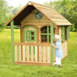 Cabane enfant ALEX en cèdre vernis naturel