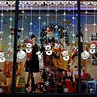 Pegatina de la Navidad, Youson Girl® Pegatina de Muñecos de Nieve Decoración de Navidad Decoración de Decal de Copo de Nieve de Ventana
