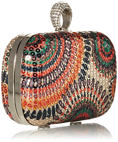 BMC - Borsetta clutch con paillettes e anello con brillantini - Diversi modelli Multicoloured