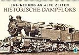 Erinnerung an alte Zeiten: Historische Dampfloks (Wandkalender 2019 DIN A2 quer): Dampflokomotiven: Mit Volldampf voraus! (Monatskalender, 14 Seiten ) (CALVENDO Mobilitaet)