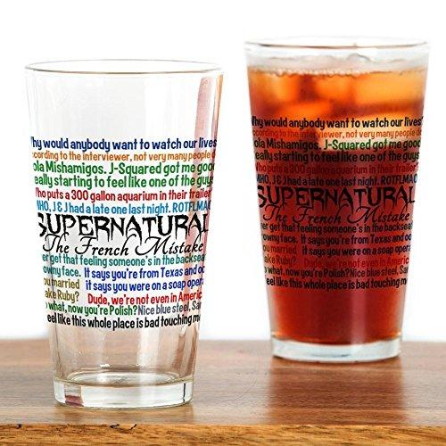 CafePress?Funny Supernatural?Pint-Glas, 16oz Trinkglas